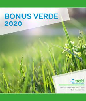 Bonus Verde 2020: come funziona e a chi spetta