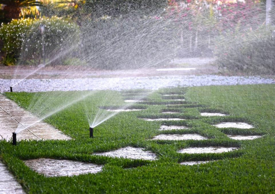 Irrigazione prato estate - SATI